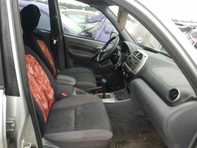 2001 TOYOTA RAV4 - Left Rear View