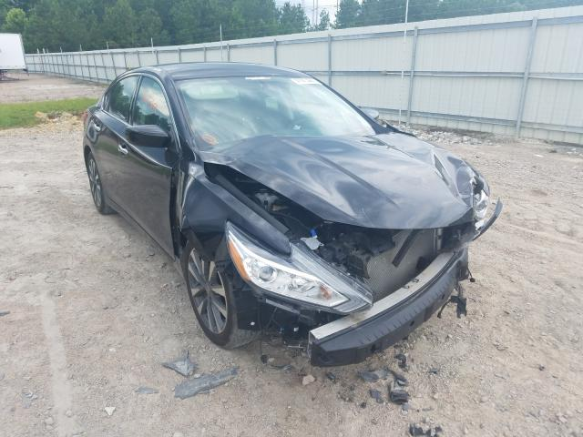 Salvage cars for sale from Copart Charles City, VA: 2016 Nissan Altima 2.5