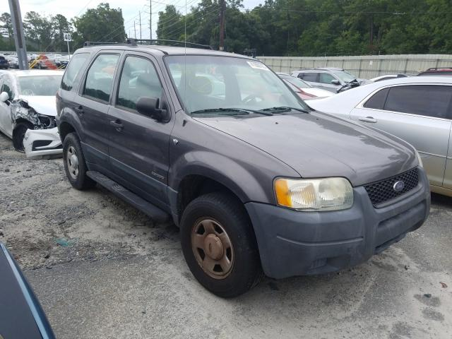 Ford Escape XLS salvage cars for sale: 2002 Ford Escape XLS