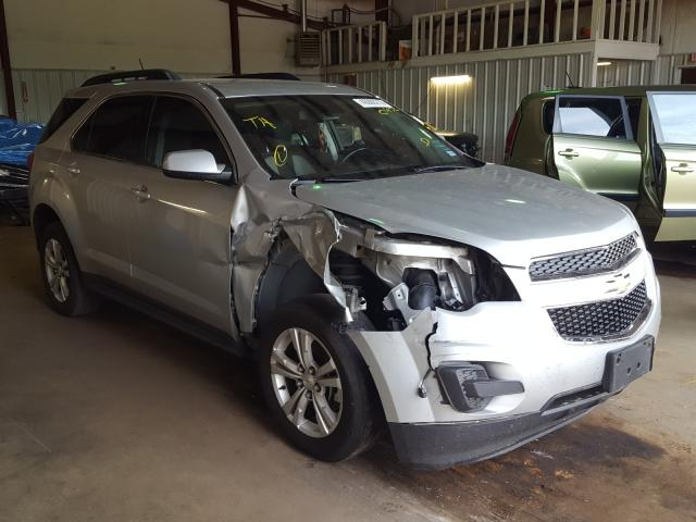 Salvage cars for sale from Copart Longview, TX: 2015 Chevrolet Equinox LT
