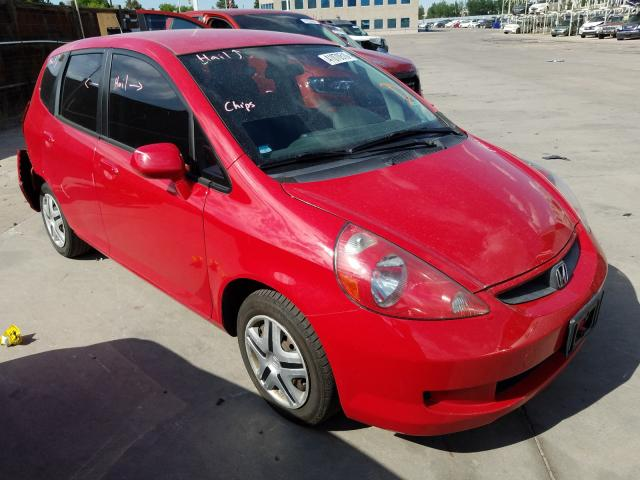 Honda FIT salvage cars for sale: 2008 Honda FIT