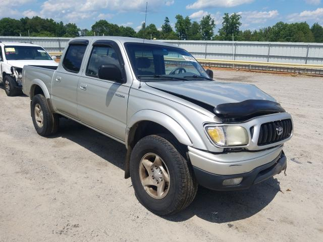 Salvage cars for sale from Copart Chatham, VA: 2001 Toyota Tacoma DOU