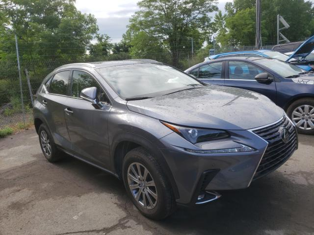 Salvage cars for sale from Copart Marlboro, NY: 2019 Lexus NX 300 Base