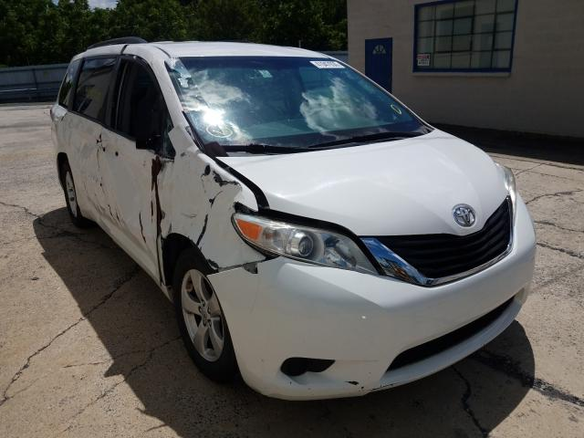 Toyota salvage cars for sale: 2014 Toyota Sienna LE