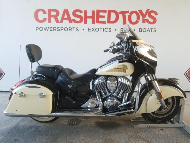 Vehiculos salvage en venta de Copart Riverview, FL: 2019 Indian Motorcycle Co. Chieftain
