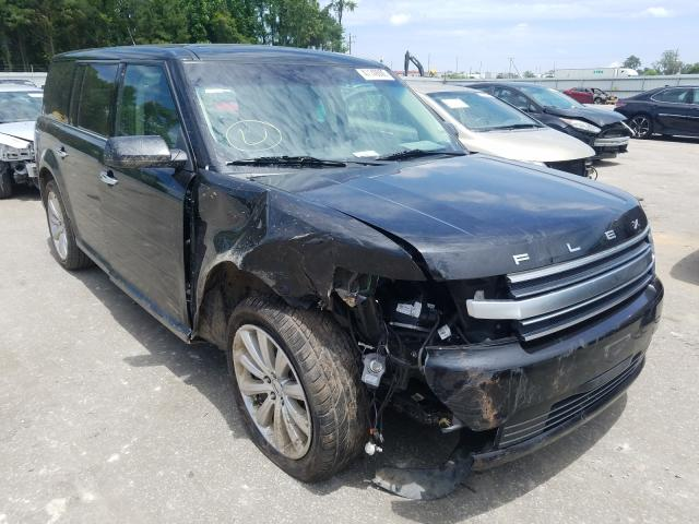 Salvage cars for sale from Copart Dunn, NC: 2015 Ford Flex Limited