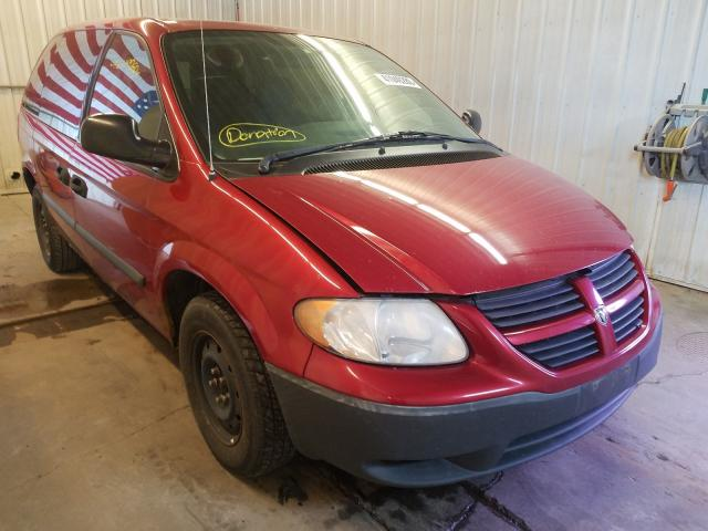 Salvage cars for sale from Copart Avon, MN: 2006 Dodge Caravan SE