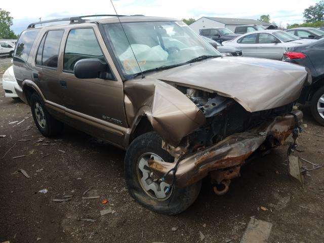 Salvage cars for sale from Copart Columbia Station, OH: 2004 Chevrolet Blazer