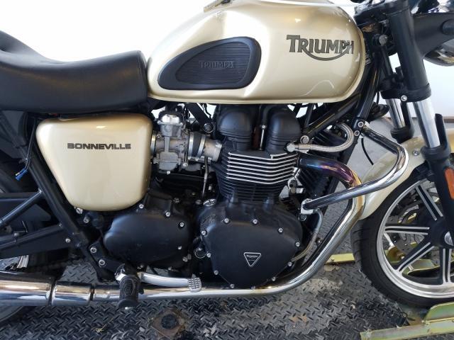 пригнать из сша 2012 TRIUMPH MOTORCYCLE BONNEVILLE  SMT900K11CT522041
