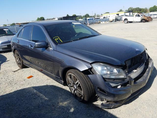 Mercedes-Benz C 350 salvage cars for sale: 2013 Mercedes-Benz C 350