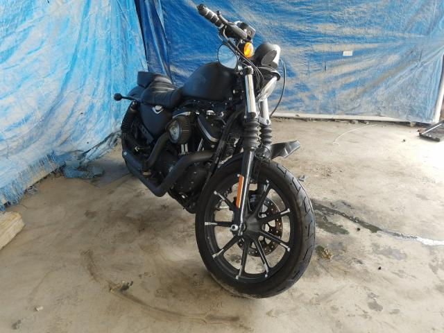 Salvage cars for sale from Copart Cartersville, GA: 2018 Harley-Davidson XL883 Iron