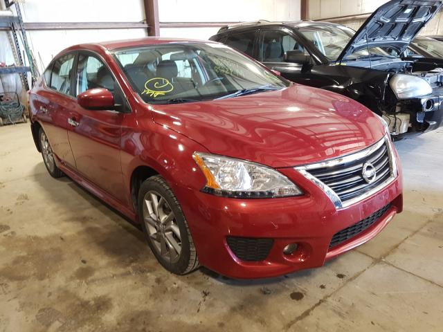 Nissan salvage cars for sale: 2013 Nissan Sentra S
