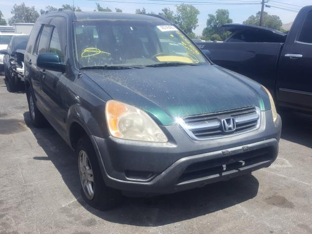 Salvage cars for sale from Copart Colton, CA: 2003 Honda CR-V EX