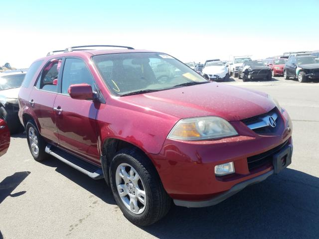 Acura MDX Touring salvage cars for sale: 2004 Acura MDX Touring