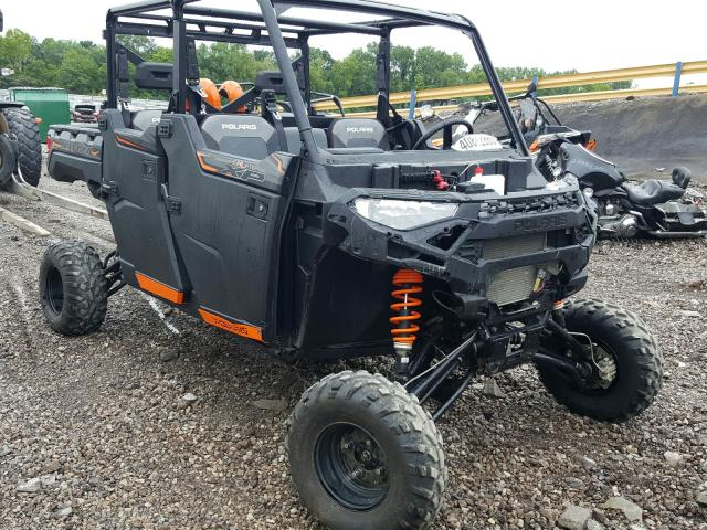 Polaris salvage cars for sale: 2019 Polaris Ranger CRE