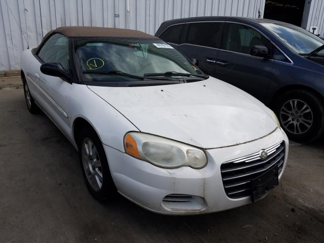 Chrysler Sebring salvage cars for sale: 2005 Chrysler Sebring
