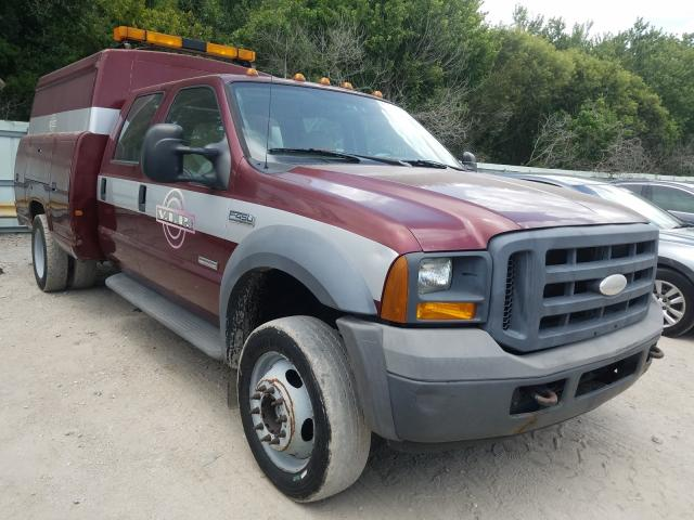 Ford F450 Super salvage cars for sale: 2005 Ford F450 Super