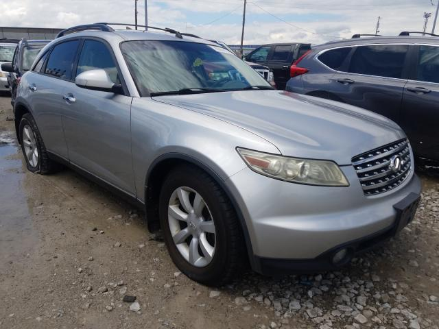 Salvage cars for sale from Copart Columbus, OH: 2005 Infiniti FX35
