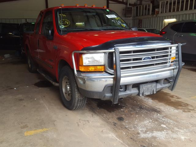 Salvage cars for sale from Copart Longview, TX: 1999 Ford F250 Super