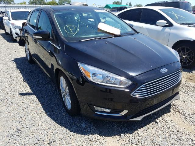 Ford Focus Titanium salvage cars for sale: 2018 Ford Focus Titanium