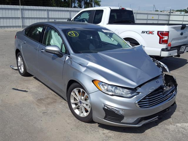 Salvage cars for sale from Copart Dunn, NC: 2020 Ford Fusion SE