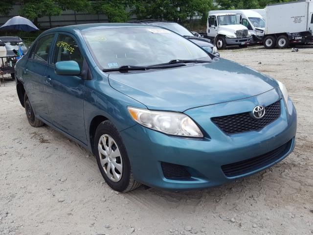 Salvage cars for sale from Copart Mendon, MA: 2010 Toyota Corolla BA