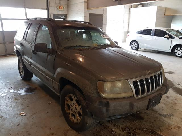 Salvage cars for sale from Copart Sandston, VA: 2003 Jeep Grand Cherokee