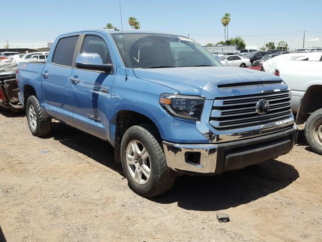 Toyota Tundra CRE salvage cars for sale: 2019 Toyota Tundra CRE