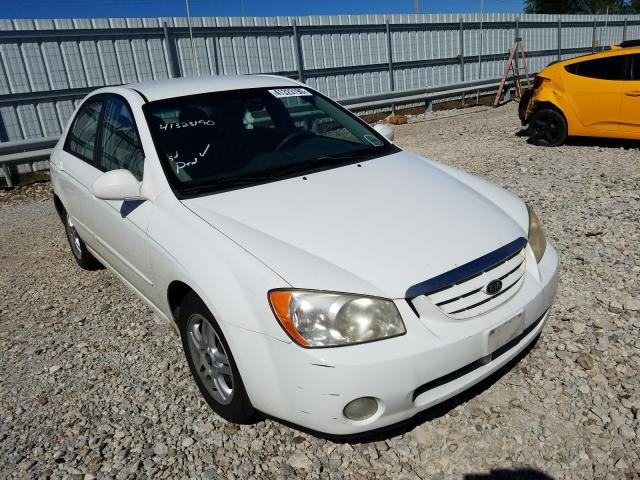 KIA Spectra LX salvage cars for sale: 2005 KIA Spectra LX