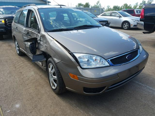 Ford Focus ZXW salvage cars for sale: 2005 Ford Focus ZXW