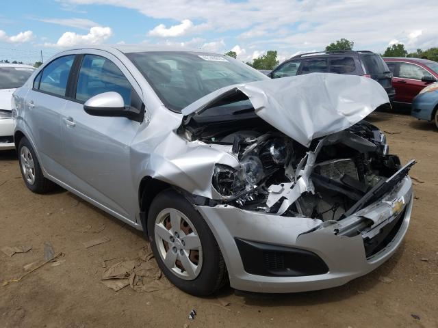 Salvage cars for sale from Copart Columbia Station, OH: 2013 Chevrolet Sonic LS