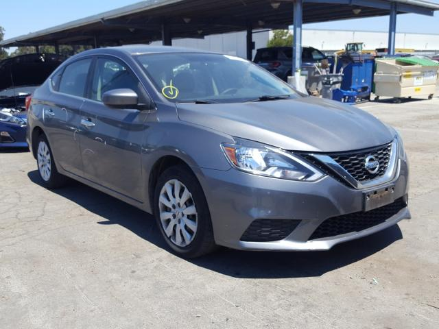 Salvage cars for sale from Copart Hayward, CA: 2016 Nissan Sentra S