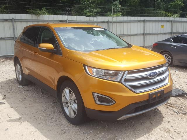 Salvage cars for sale from Copart Midway, FL: 2016 Ford Edge SEL
