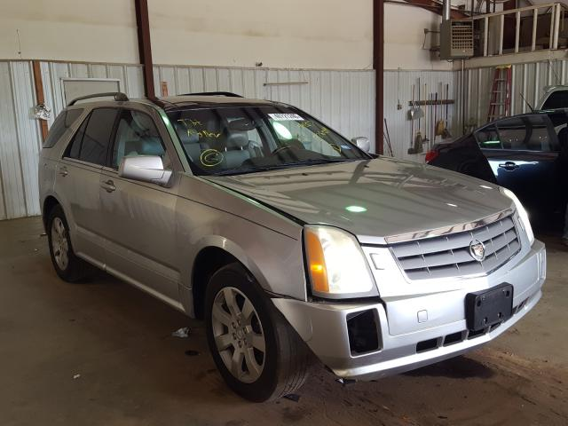 Salvage cars for sale from Copart Longview, TX: 2006 Cadillac SRX