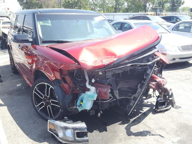 Ford Flex SEL salvage cars for sale: 2015 Ford Flex SEL