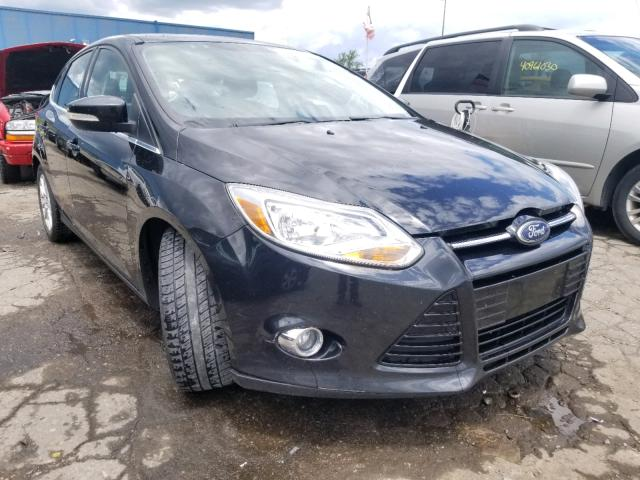 Salvage cars for sale from Copart Woodhaven, MI: 2012 Ford Focus SEL