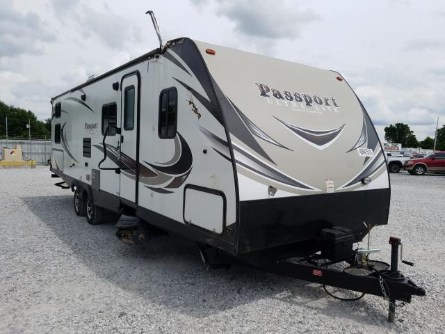 Keystone Passport salvage cars for sale: 2018 Keystone Passport