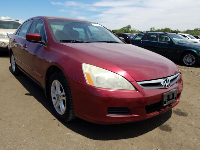 Honda salvage cars for sale: 2006 Honda Accord EX