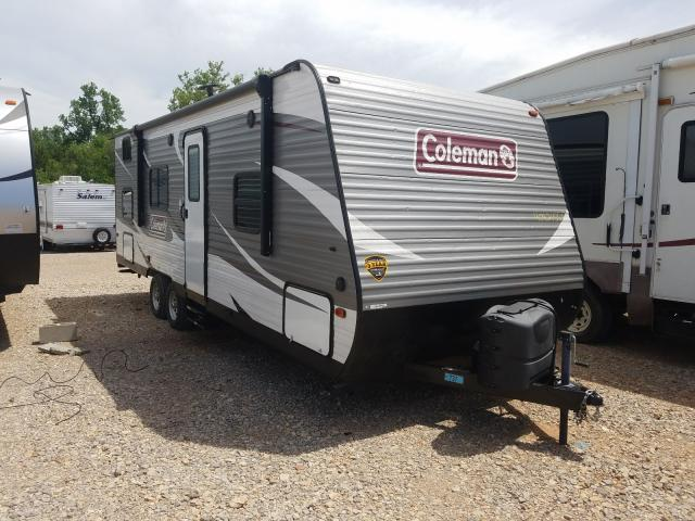 Coleman salvage cars for sale: 2018 Coleman Lantern