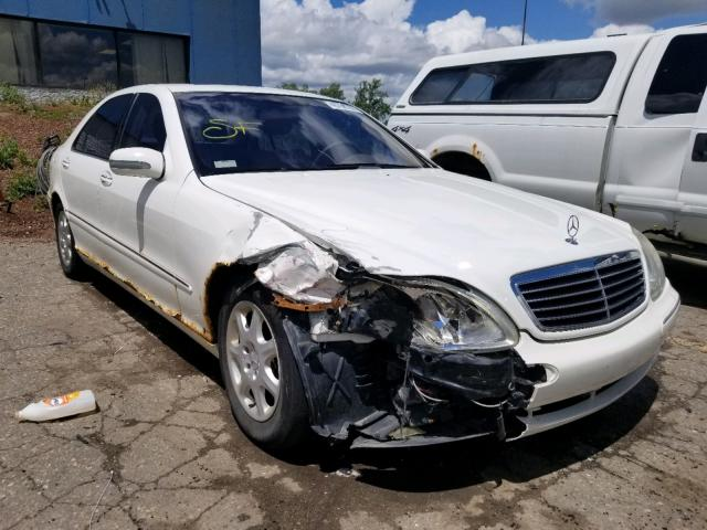 Mercedes-Benz S 430 salvage cars for sale: 2002 Mercedes-Benz S 430