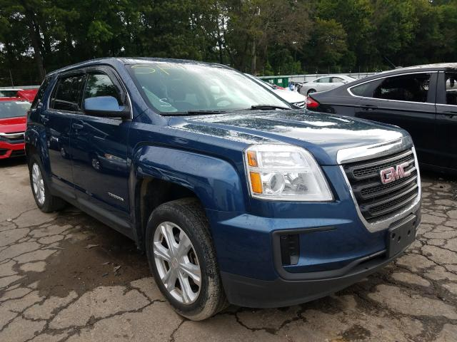 GMC Terrain SL salvage cars for sale: 2017 GMC Terrain SL