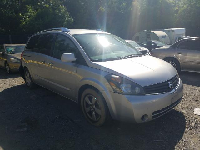 Salvage cars for sale from Copart Waldorf, MD: 2008 Nissan Quest S