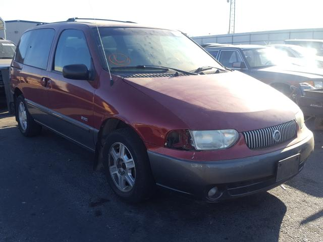 Mercury salvage cars for sale: 2002 Mercury Villager S