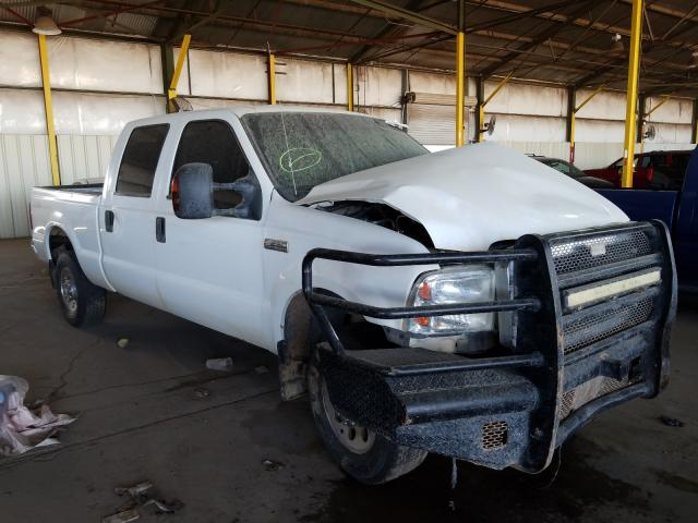 Ford salvage cars for sale: 2005 Ford F250 Super