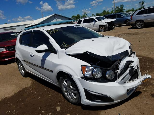 Salvage cars for sale from Copart Pekin, IL: 2012 Chevrolet Sonic LT
