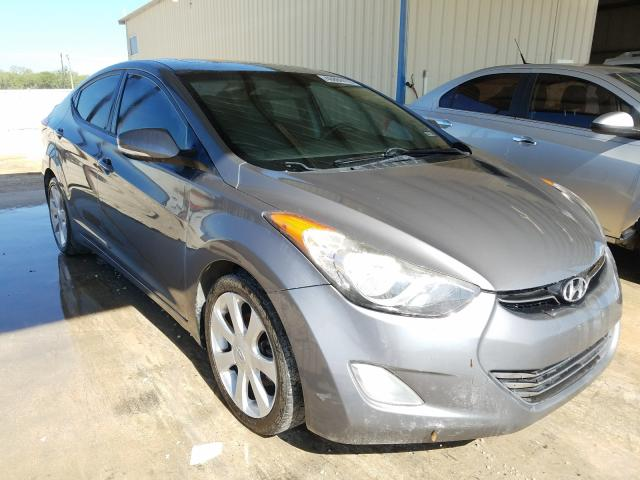 Salvage cars for sale from Copart San Antonio, TX: 2013 Hyundai Elantra GL