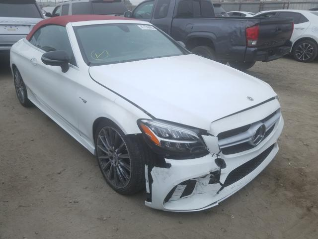 Mercedes-Benz C 43 AMG salvage cars for sale: 2019 Mercedes-Benz C 43 AMG