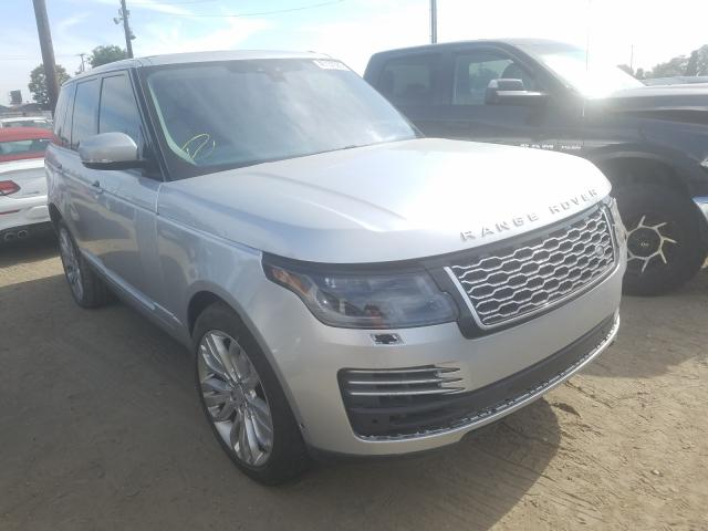 Land Rover Range Rover salvage cars for sale: 2018 Land Rover Range Rover