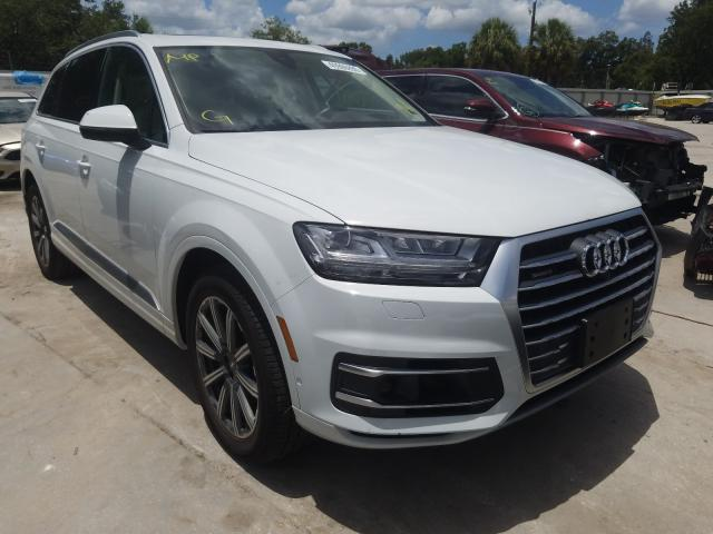 Audi Q7 Prestige salvage cars for sale: 2019 Audi Q7 Prestige