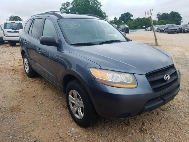 Salvage cars for sale from Copart China Grove, NC: 2009 Hyundai Santa FE G